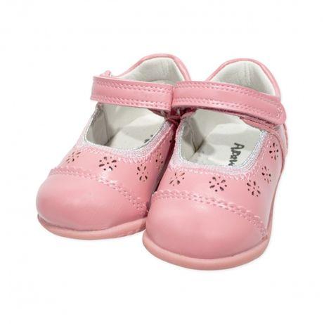 Pantofi eleganti bebe| Pantofi fashion roz pudra | Pantofi Apawwa