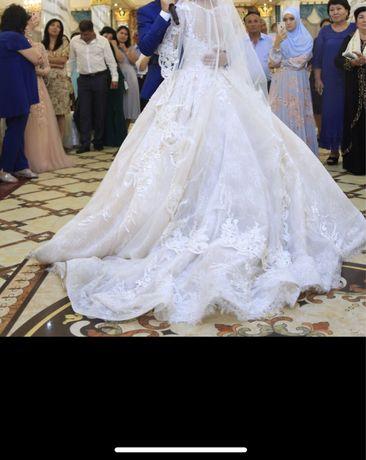 Свадебное платте