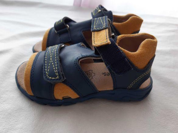 НОВИ от естествена кожа  сандали №25