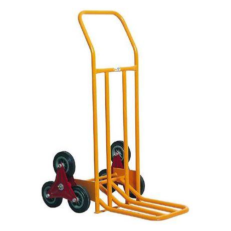Ръчна количка 75 кг за стълби, сгъваема платформа