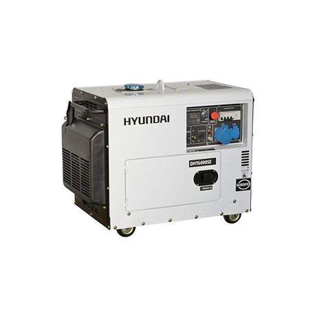 Generator de curent monofazat cu motor diesel 5.3KW HYUNDAI DHY6000SE