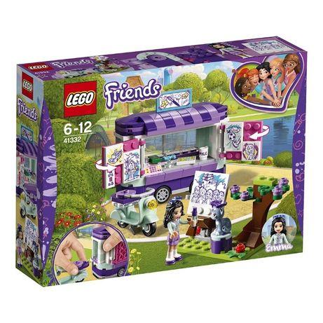LEGO®Friends 41332-Standul de arta al Emmei.Varsta recomandata 6-12