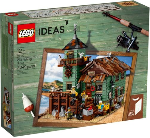Lego Ideas 21310, original, Magazin vechi de pescuit (nou, sigilat)