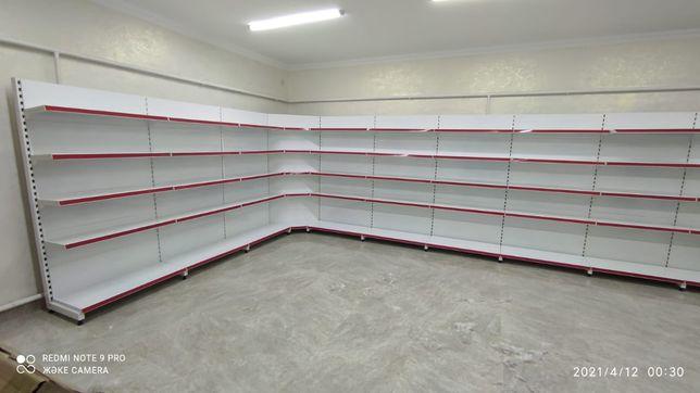 Витрины металлические стеллажи полки для магазинов и другого бизнеса
