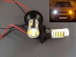 Диодные лампы лед ДХО + поворотник LED