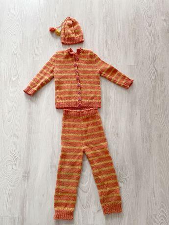 Costum 1-2 ani, lana alpaca.