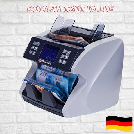 Мультивалютный счетчик банкнот с сортировкой DOCASH 3200 VALUE
