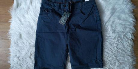 Pantaloni Chino albastri scurti barbati marime S - House Brand