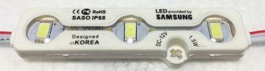 Bagheta Cu 3 LED-Uri, Rezistenta La Umiditate - Lumina Alb/Rece