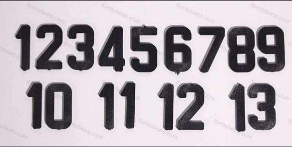 Цифри за номериране на кошери