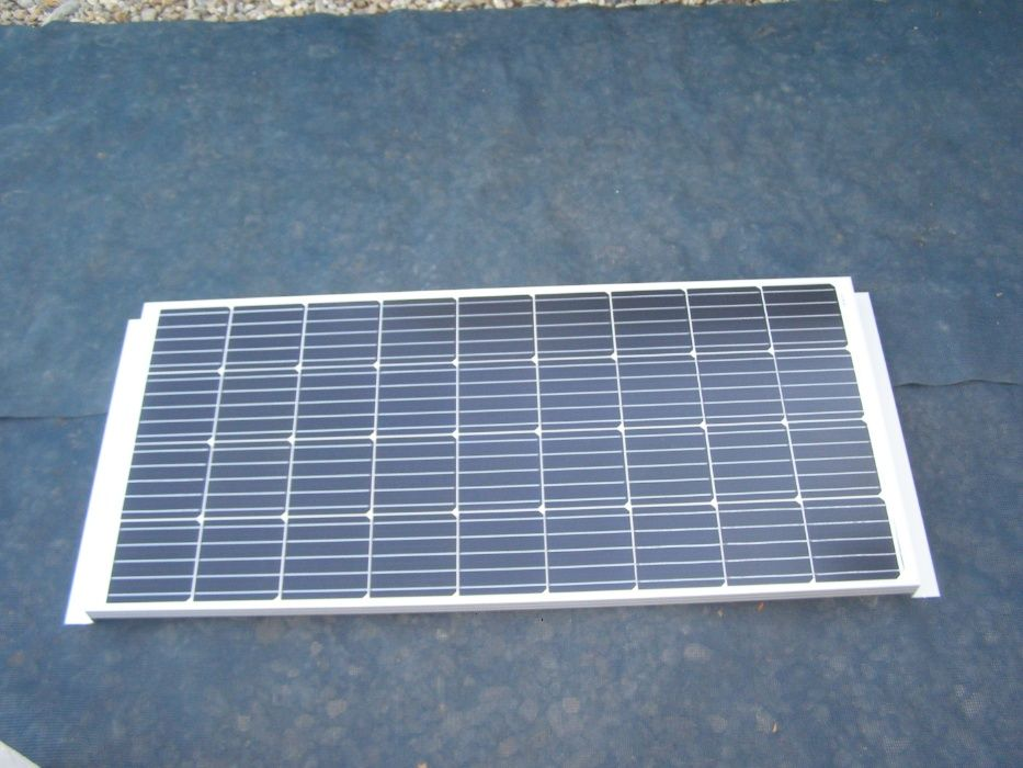 Kit panou fotovoltaic special pt rulote si autorulote produs in Franta Cluj-Napoca - imagine 1