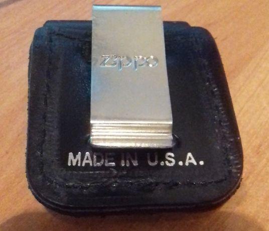 Кожаный чехол зажигалки Zippo
