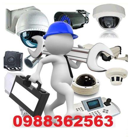 Системи за видеонаблюдение - Проектиране монтаж продажба камери DVR-и