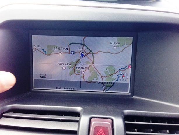 DVD harti navigatie Volvo S80 V70 XC60 XC70 Europa Romania 2018
