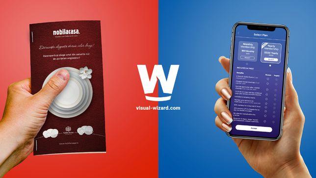 Servicii webdesign,realizez site-uri web, design grafic si UI design