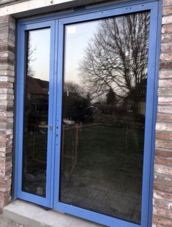 Usa casa firma aluminiu dubla geam termopan H 250 x L 200 Germania