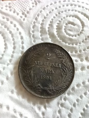 Монета Neu Guinea mark 2