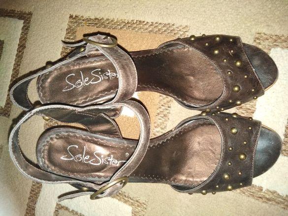 Дамски обувки естествена кожа номер 39
