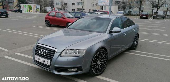 Audi A6 este adusa recent pe roti din Olanda