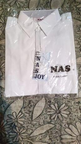 Рубашки новые школьные белые