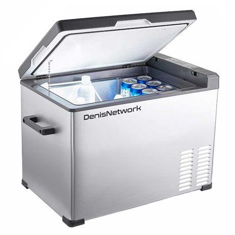Frigider / congelator auto la 12-24-220v de 40L cu freon - mobil
