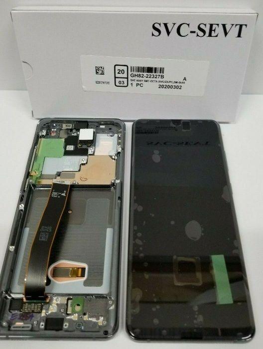 Display Samsung S20 Ultra Original factura 1an garanție montaj pe loc Bucuresti - imagine 1