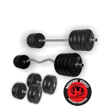Gazo Fitness superset GANTERA HALTERA 66 KG