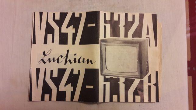 Schema tv Luchian Electronica ! Completa pentru reparatii.