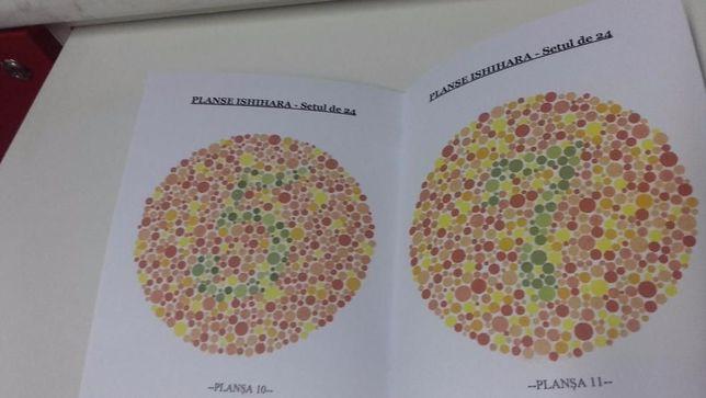 Testul culorilor complet- setul de 38