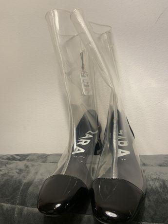 Cizme transparente Zara