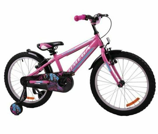 "Bicicleta 16"" Omega Master 2021, pentru copii, Culoare Pink ROZ"