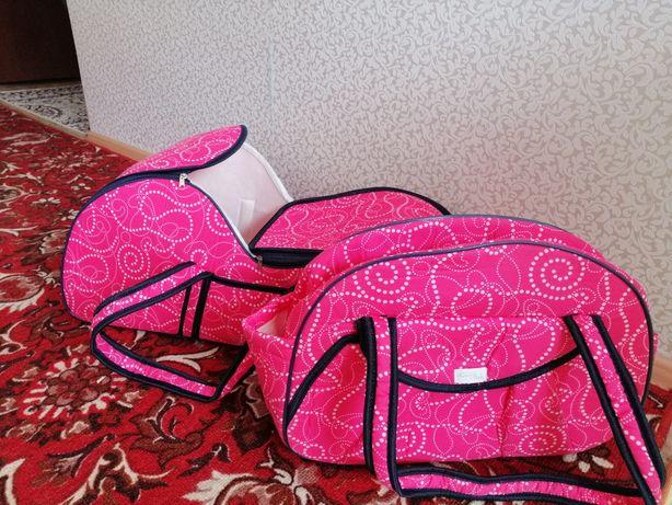 Переноска сумка и отдельно сумка для новорожденных
