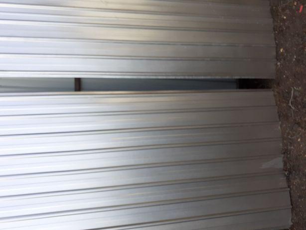 Tablă cutata zinc aluminiu și colorate