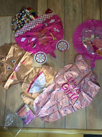 vând set baloane nou născuți pentru fetițe