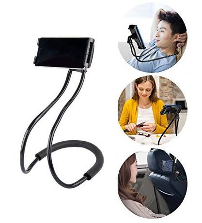Супер удобна и стабилна огъваща се стойка държач за телефон