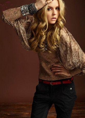 Bluză/pulover imprimeu leopard. animal print