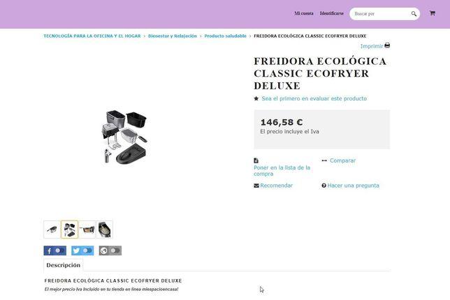 FRITEUZA Princess Ecofryer Deluxe