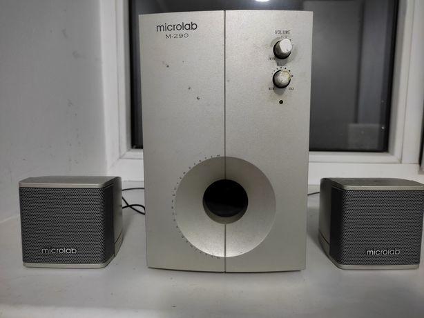 Сабвуфер с колонками Microlab срочно!
