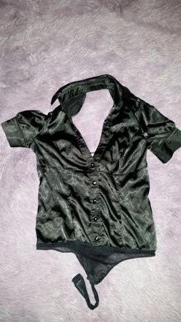 Риза боди с гол гръб