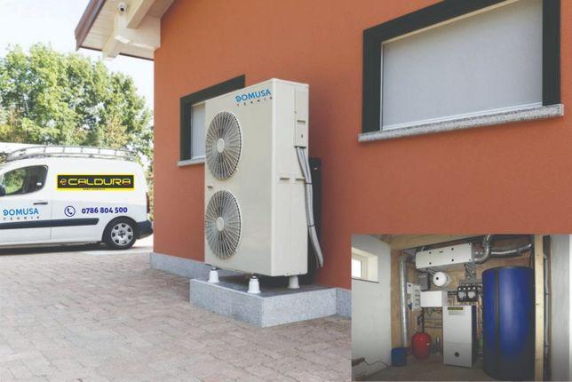 Pompa de caldura A+++ aer-apa DOMUSA DUAL CLIMA + montaj