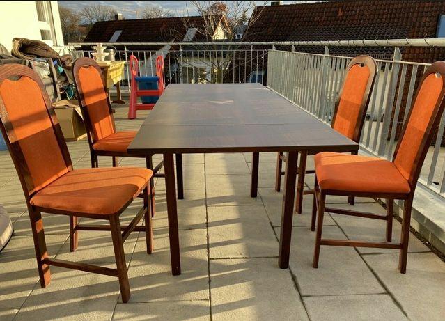 Vând masa + 4 scaune