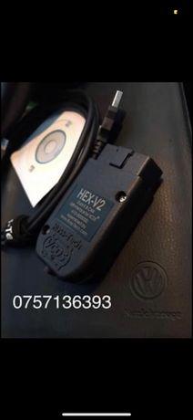 Tester VCDS VAG COM 19.6 Auto vw audi skoda seat ultima versine romana