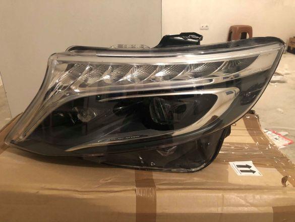 Ляв фар Мерцедес V class W447 LED мерцедес Вито лед vito