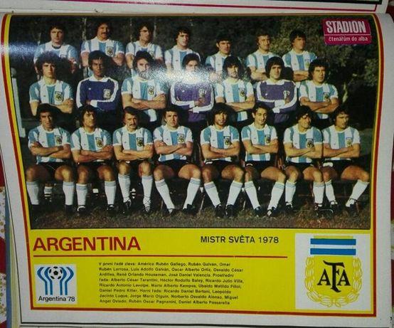 Списание Стадион Чехословакия 1979, 1980, 1981, 1983, 1984