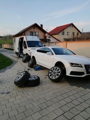 Vulcanizare mobila  Sibiu camioane autoturisme
