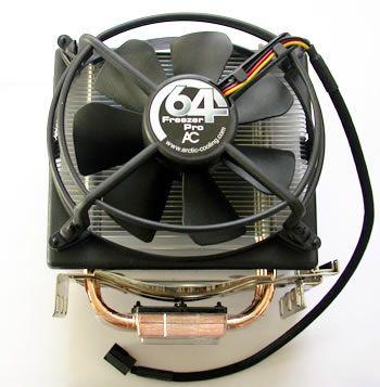 Cooler Rysen AM4 AM3 AM3+ FM ARCTIC AC Freezer 64 PRO Nou