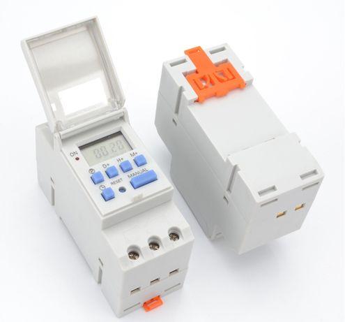 Седмичен електронен таймер Timer CN101A AHC15A 24ч, 220 волта