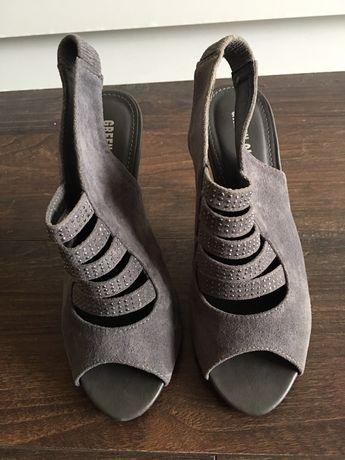 Сиви летни сандали