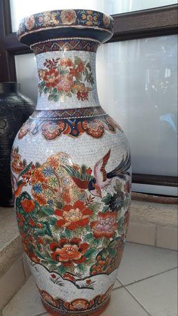 Vaza ceramica vintage, 61 cm