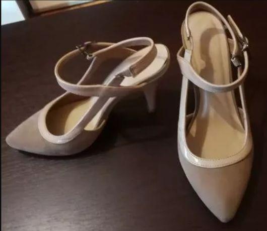 Sandale culoare nude, marimea 37